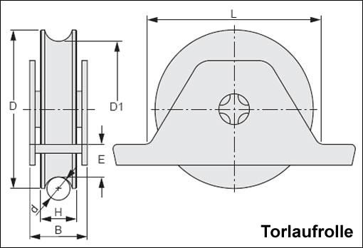 Schiebetorset aufschrauben innenst tzbock 6m 100372 ebay for Schiebetor scheune selber bauen