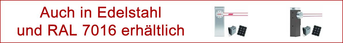 Schranken-NICE-Edelstahl-Solar