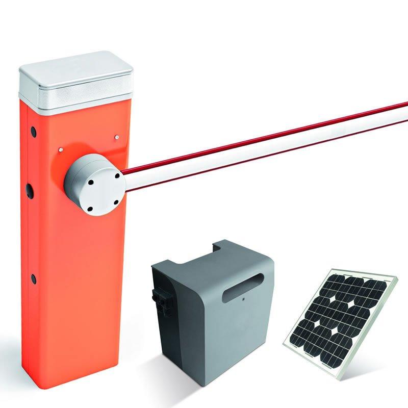 Solar-Set Schranke SBAR (15Watt) mit Schrankenbaum 4m