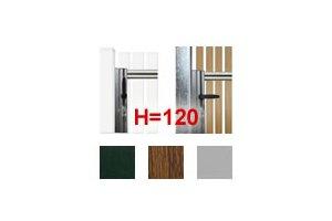 28AZC - Drückergarnituren für H=120