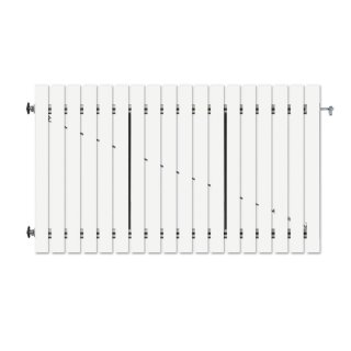 1-flüglig Drehtor Bausatz H=100 B=350 ohne Pfosten Weiß