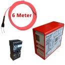 (Set1) Induktionsschleife 6m, Auswerteeinheit 230V AC