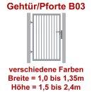 Industrie Stahl-Gehtür/Pforte B03