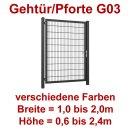 Industrie Stahl-Gehtür/Pforte G03