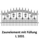 Zaunelemente L 1031 für private Zaunsysteme