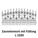 Zaunelemente L 1039 für private Zaunsysteme