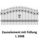 Zaunelemente L 1048 für private Zaunsysteme