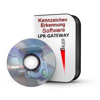 Software LPR Gateway für Kamera Kennzeichen-Erkennung