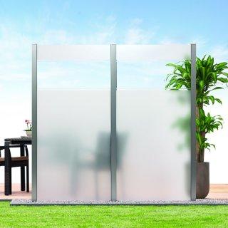 Glas-Sichtschutz Kombistreifen 90 x 180cm