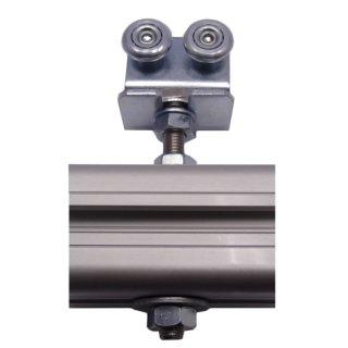 Rollenbock 40-24 mit Schraube M10x100mm, Rollen VZ      max 50kg