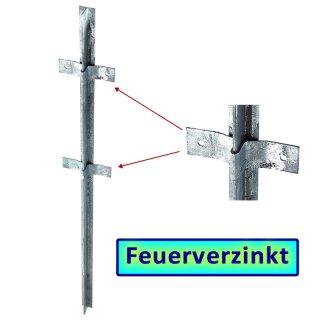 FVZ  T-Zaunpfosten 1500x40x40x5mm