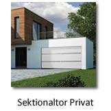 Sektionaltor Privat