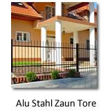 Alu-Stahl Zäune und Tore